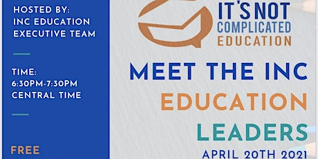 It's Not Complicated Education FREE INFO SESSION (VIRTUAL) tickets