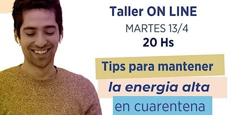 "Taller GRATUITO de ""Meditación y Respiración"" boletos"