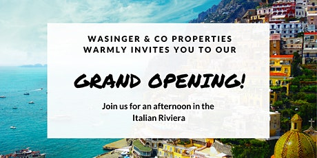Wasinger & Co Properties Grand Opening Celebration! tickets