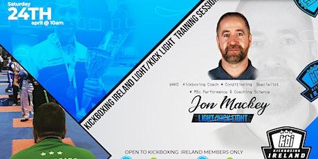Light Contact  Development Seminar ( Jon Mackey) tickets