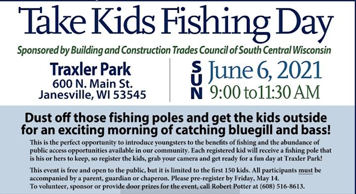 2021 Take Kids Fishing Janesville WI image