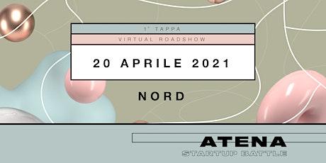 Roadshow virtuale Atena Startup Battle 2021 | Nord Italia biglietti