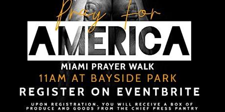 Miami Prayer Walk tickets