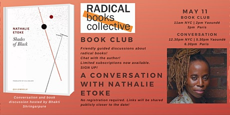 Book Club 1 --> Shades of Black by Nathalie Etoke tickets