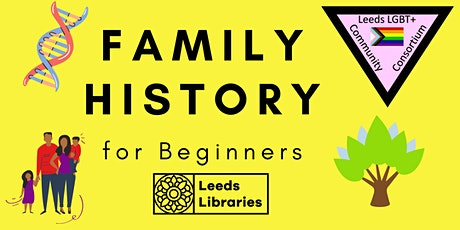 Family History for Beginners tickets