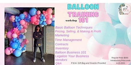 Balloon Workshop 101 tickets