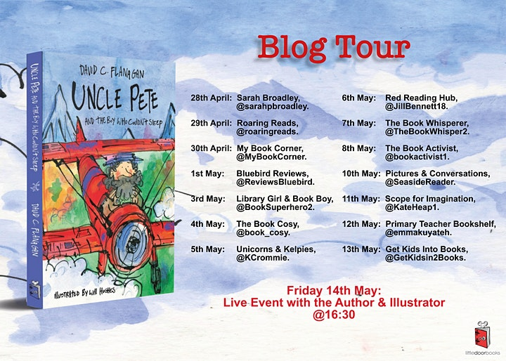 Uncle Pete and the Boy Who Couldn't Sleep - Book Launch Event image