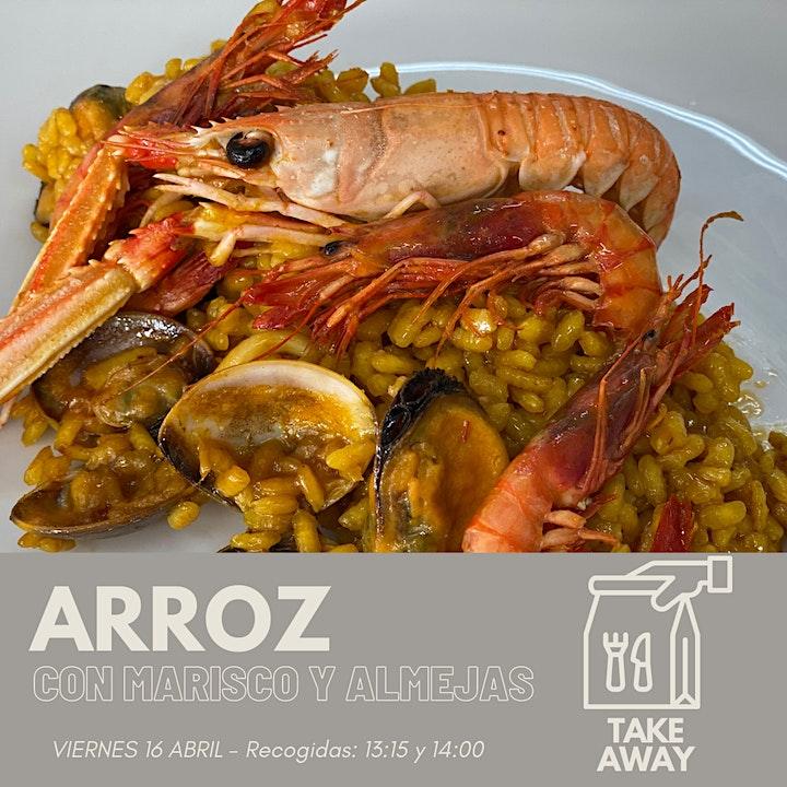 Imagen de Arroz con marisco y almejas