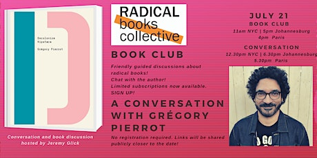 Book Club 4 -->  Decolonize Hipsters by Grégory Pierrot tickets