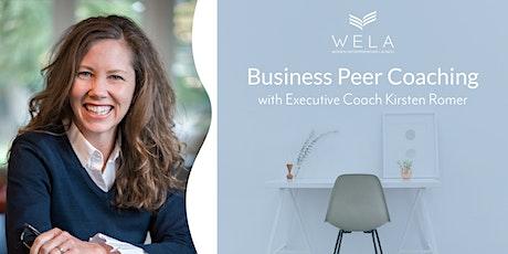 WELA Business Peer Coaching Workshop tickets