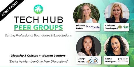 PEER GROUP GATHERING |  Diversity & Culture + Women Leaders tickets
