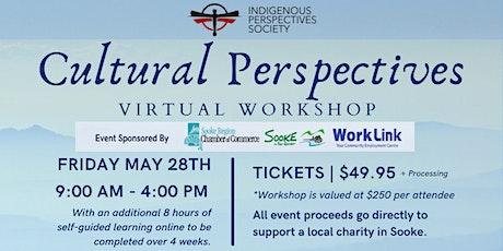 Cultural Perspectives Workshop, Sooke tickets