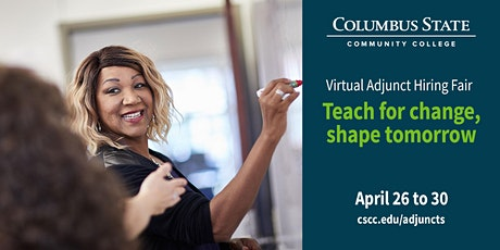 Columbus State Community College Virtual Adjunct Hiring Event tickets