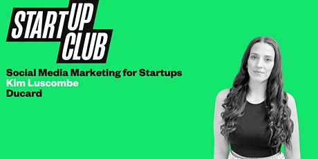 Social Media Marketing for Startups tickets