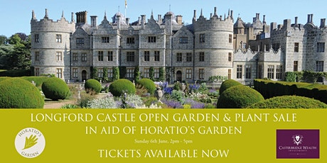 Longford Castle Open Garden and Plant Sale in aid of Horatio's Garden tickets
