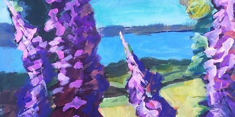 Expressions in Painting via ZOOM 6-week Artist Series tickets