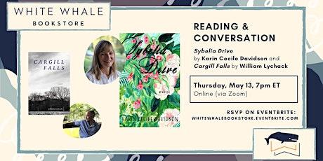 Reading & Conversation: Karin Cecile Davidson & William Lychack tickets