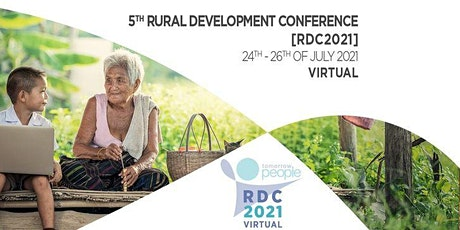5th Rural Development Conference [RDC2021] tickets