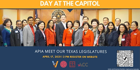 2021 Virtual Day at the Capitol - Meet & Greet with Texas Lawmakers tickets