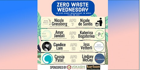 Zero Waste Wednesday tickets