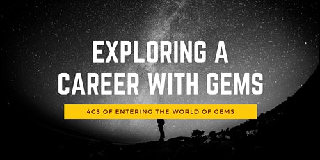 Explore a career with gems tickets