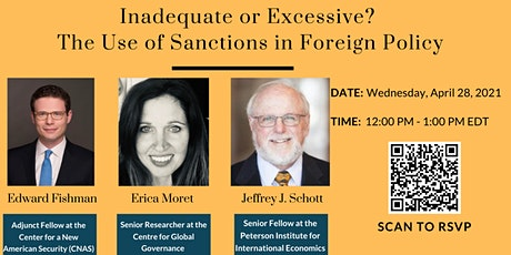 Inadequate or Excessive? The Use of Sanctions in Foreign Policy tickets
