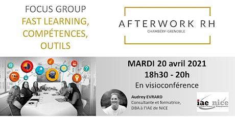 AfterWork RH Chambéry-Grenoble -  FocusGroupe Formation et Compétences billets