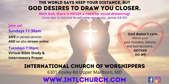International Church of Worshippers Food and Clothing Giveaway image