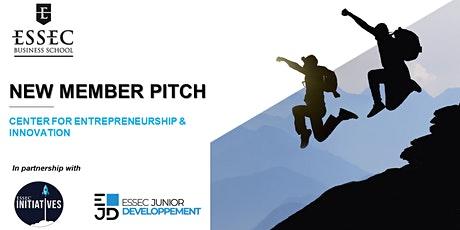 ESSEC Student Incubator - New Member Pitch billets