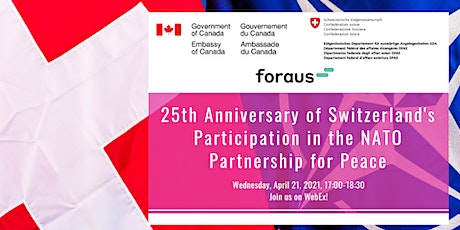 25th Anniversary of Swiss Participation in the NATO Partnership for Peace tickets