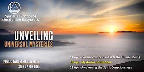Public Talk Series - Unveiling Universal Mysteries tickets