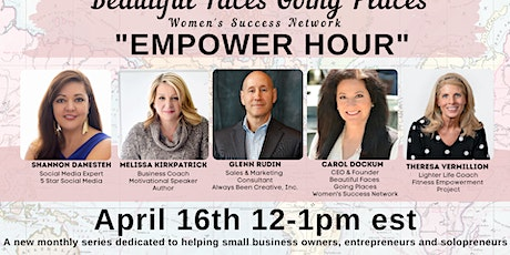 Empower Hour - by Beautiful Places Going Places tickets