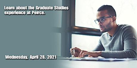 April 2021 Graduate Studies Open House tickets