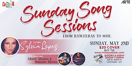 """""""Sunday Songs Sessions ~ from Rancheras to Soul"""" tickets"""