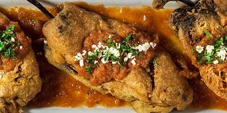 UBS - Virtual Cooking Class: Cinco de Mayo Chile Relleno (Stuffed Pepper) tickets