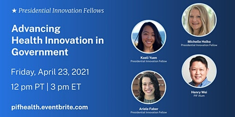 Advancing Health Innovation in Government tickets