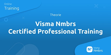 Visma Nmbrs Certified Professional Training (Theorie) tickets
