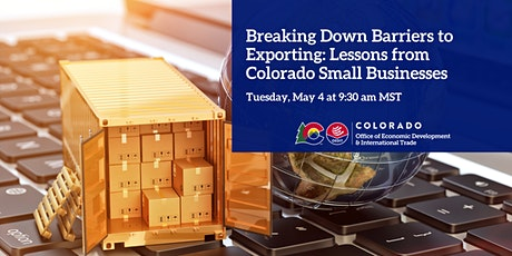 Breaking down barriers to exporting: lessons from Colorado small businesses tickets