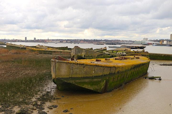 Rainham Marshes/Rainham Barges -  part T100 Grow your Own image