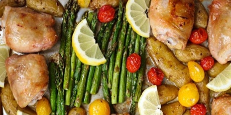UBS - Virtual Cooking Class: Lemon Rosemary Sheet Pan Dinner tickets