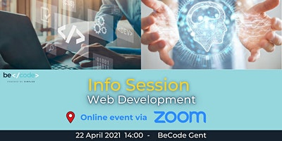 BeCode Gent – Info Session – Web Development