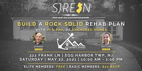 Build A Rock Solid Rehab Plan tickets