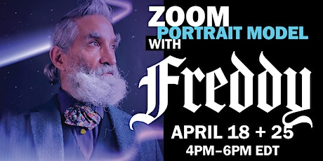 Portrait Model ZOOM with FREDDIE BORGES (Long Pose) tickets