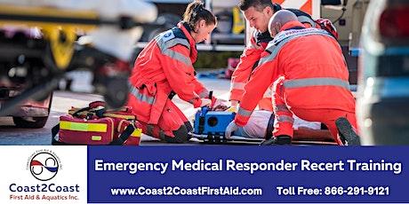 Emergency Medical Responder Recertification Course - Hamilton tickets