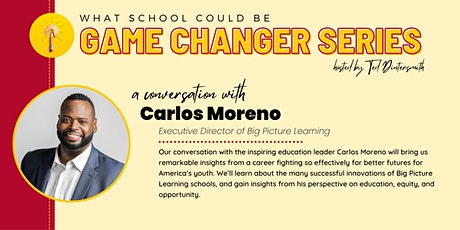 A Conversation with Carlos Moreno and Ted Dintersmith tickets