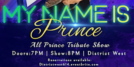 """TEMPTATION BURLESQUE presents """"MY NAME IS PRINCE"""" 05/06/21 AT 8PM tickets"""