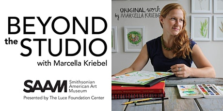Beyond the Studio Virtual Workshop with Marcella Kriebel tickets