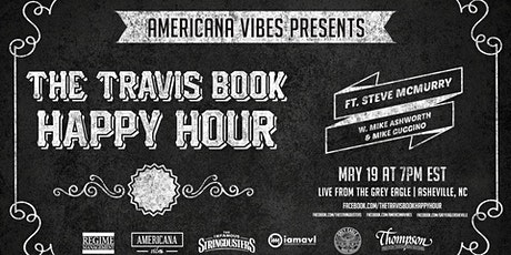 The Travis Book Happy Hour featuring Steve McMurry (Acoustic Syndiate) tickets