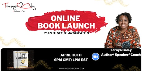 Book Launch- Plan it. See it. Anticipate it. tickets