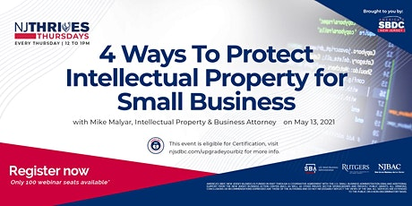4 Ways To Protect Intellectual Property for Small Business tickets